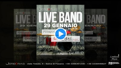 Live Band DIVENERE + The Permanent @ Jerbéras