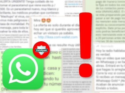 Estafas whatsapp