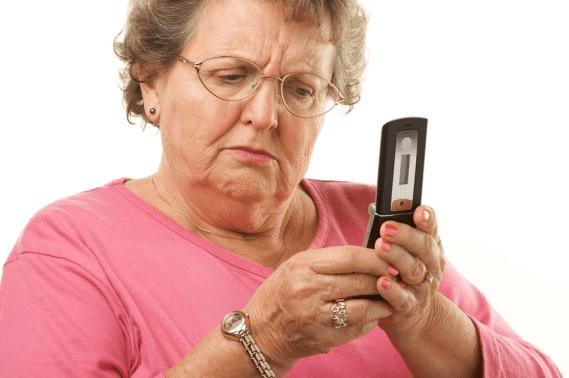 las personas mayores recibian muchas de estas llamadas