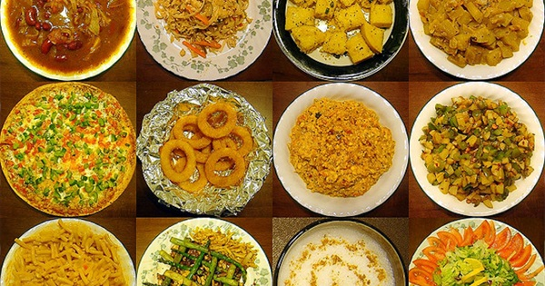 40 world cuisines