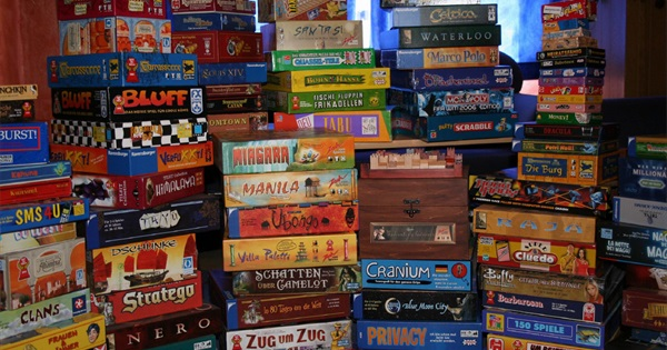 80s And 90s Board Games
