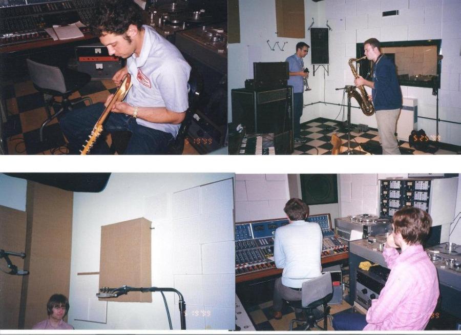 """הקלטת """"How To Be Shy"""" באולפני Toe Rag בלונדון"""