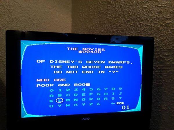 """אוצ'ר במשחק """"Jeopardy!"""" אלקטרוני"""