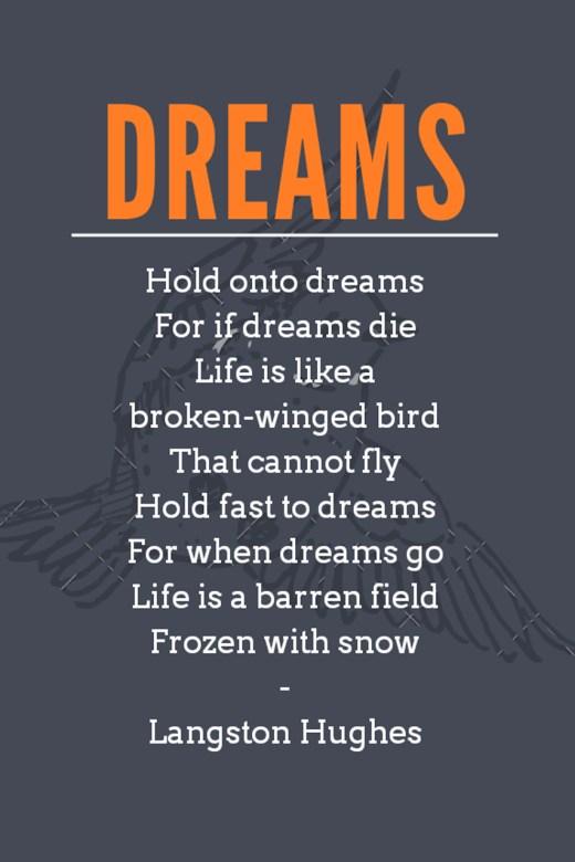 """Langston Hughes' """"Dreams"""""""