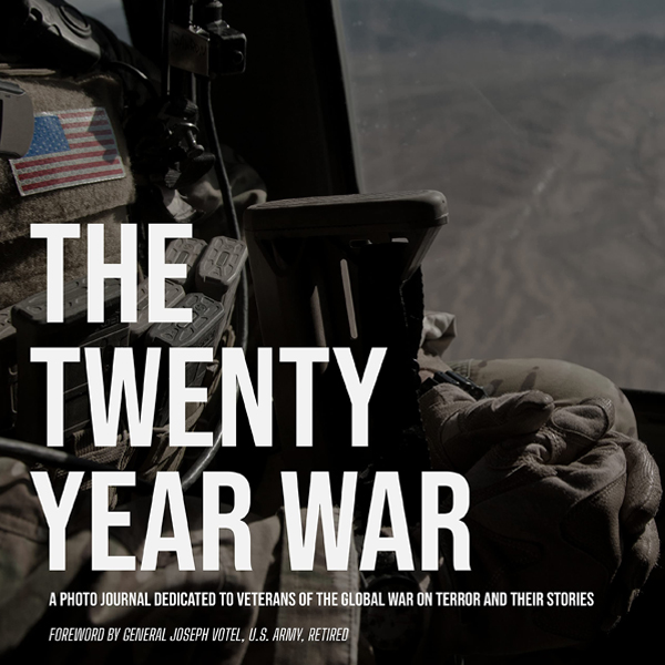 The Twenty Year War by photographer Beau Simmons and Army Rangers Dan Blakeley and Tom Amenta