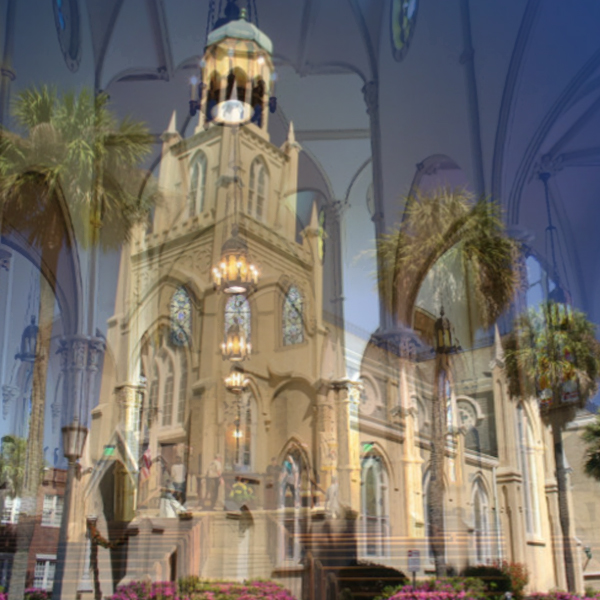 Congregation Mickve Israel in Savannah is designed in the neo-Gothic style. (Photos © Congregation Mickve Israel)