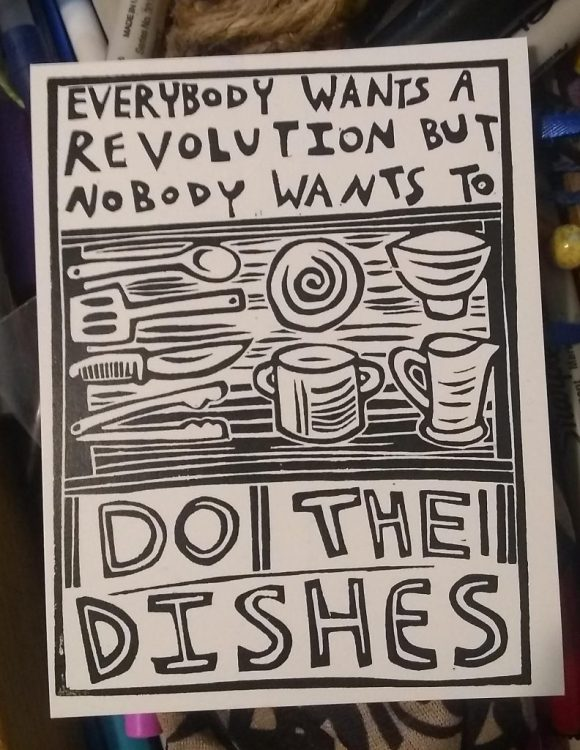 do the dishes