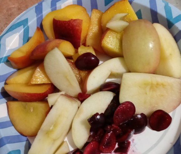 autism fruit salad