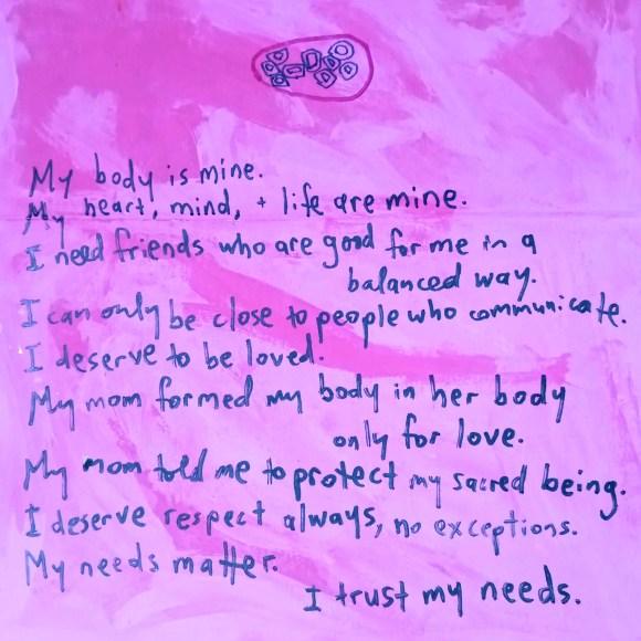 my body is mine