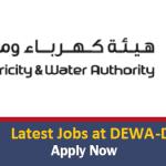 Huge Job Vacancies in Dubai Electricity and Water Authority (DEWA)@Dubai-UAE