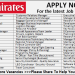Latest Job Vacancies in Emirates Group Airport September 2017| Any Graduate/ Any Degree / Diploma / ITI |Btech | MBA | +2 | Post Graduates | Dubai-UAE