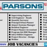 Latest Job Vacancies in  PARSON | Any Graduate/ Any Degree / Diploma / ITI |Btech | MBA | +2 | Post Graduates | Dubai,Abu Dhabi,Qatar,Saudi Arabia,UAE