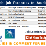 Latest Job Vacancies in Saudi Aramco | Any Graduate/ Any Degree / Diploma / ITI |Btech | MBA | +2 | Post Graduates | Saudi Arabia