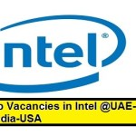 Huge Job Vacancies in Intel Corporation @UAE,Singapore,Malaysia,USA,Saudi Arabia