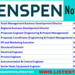 Latest Oil and Gas Job Vacancies in Penspen 2020 | Any Graduate/ Any Degree / Diploma / ITI |Btech | MBA | +2 | Post Graduates | Abu Dhabi,Bangkok,Singapore,UAE,USA,UK