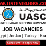 Huge Job Vacancies in United Arab Shipping Company @UAE,US,Brazil,Egypt,Jordan