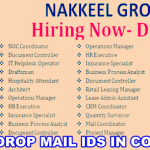 Latest Job Vacancies in Nakheel Properties 2018 | Any Graduate/ Any Degree / Diploma / ITI |Btech | MBA | +2 | Post Graduates  | @Dubai-UAE