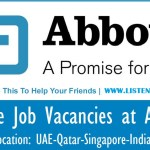 Huge Latest Job Vacancies in Abbott  September 2017| Any Graduate/ Any Degree / Diploma / ITI |Btech | MBA | +2 | Post Graduates  | UAE,Malaysia,Singapore,India,UK,USA