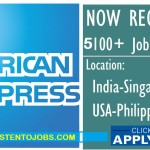 Huge Job Vacancies in American Express @Malaysia,Singapore,USA,India