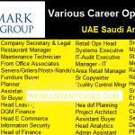 Latest Job Vacancies in Landmark Group 2017 | Any Graduate/ Any Degree / Diploma / ITI |Btech | MBA | +2 | Post Graduates | Dubai,Saudi Arabia,Abu Dhabi,UAE