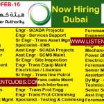 Latest Job Vacancies in The Dubai Electricity and Water Authority (DEWA) October 2017| Any Graduate/ Any Degree / Diploma / ITI |Btech | MBA | +2 | Post Graduates | UAE