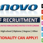 Huge Job Vacancies in Lenovo@Dubai,Saudi Arabia,UAE,Singapore,Malaysia