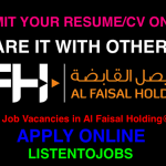 Latest Job Vacancies in Al Faisal Holding | Any Graduate/ Any Degree / Diploma / ITI |Btech | MBA | +2 | Post Graduates | Qatar