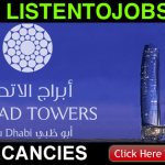 Latest Job Vacancies in Jumeirah at Etihad Towers | Any Graduate/ Any Degree / Diploma / ITI |Btech | MBA | +2 | Post Graduates | Abu Dhabi,UAE