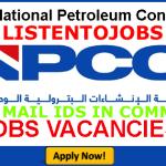 Latest Job Vacancies in National Petroleum Construction Company (NPCC) | Any Graduate/ Any Degree / Diploma / ITI |Btech | MBA | +2 | Post Graduates |UAE