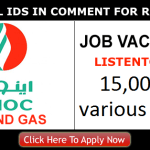Latest Oil and Gas Job Vacancies in Emirates National Oil Company[ENOC] 2020| Any Graduate/ Any Degree / Diploma / ITI |Btech | MBA | +2 | Post Graduates  | Dubai,UAE | Apply Online