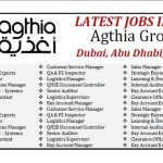 Latest Job Vacancies in Agthia Group |  Any Graduate/ Any Degree / Diploma / ITI |Btech | MBA | +2 | Post Graduates  | UAE ,Abu Dhabi , Al Ain
