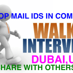 Daily Walkin Drive Jobs in Dubai ,UAE | September 2017