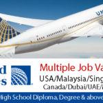 Latest Job Vacancies in United Airlines 2018 | Any Graduate/ Any Degree / Diploma / ITI |Btech | MBA | +2 | Post Graduates| USA