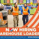 Pepsico Warehouse Person (Loader) FT/Evenings | $19.52 per hour | Wilmington, Delaware | USA