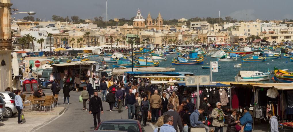 Sunday fish market (Marsaxlokk)