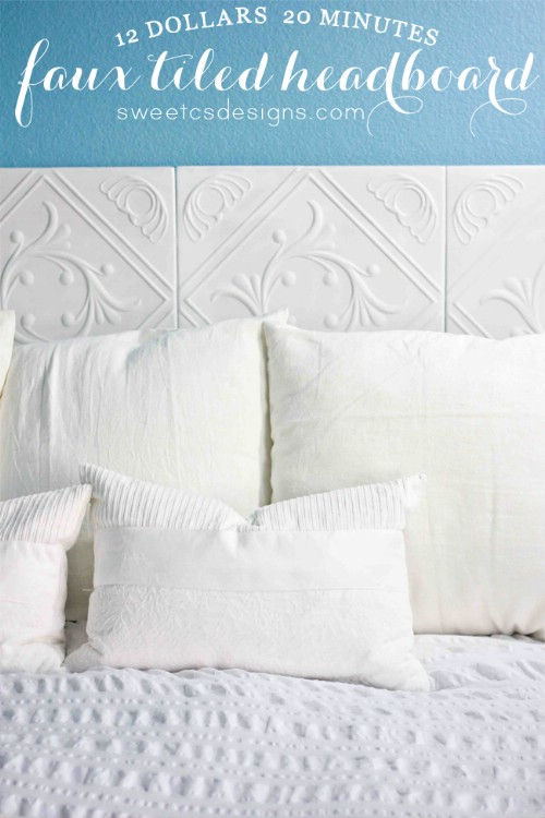 50 diy headboards you can make to revamp your bedroom – page 10