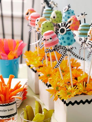 35 Adorable Monster Theme Party Ideas