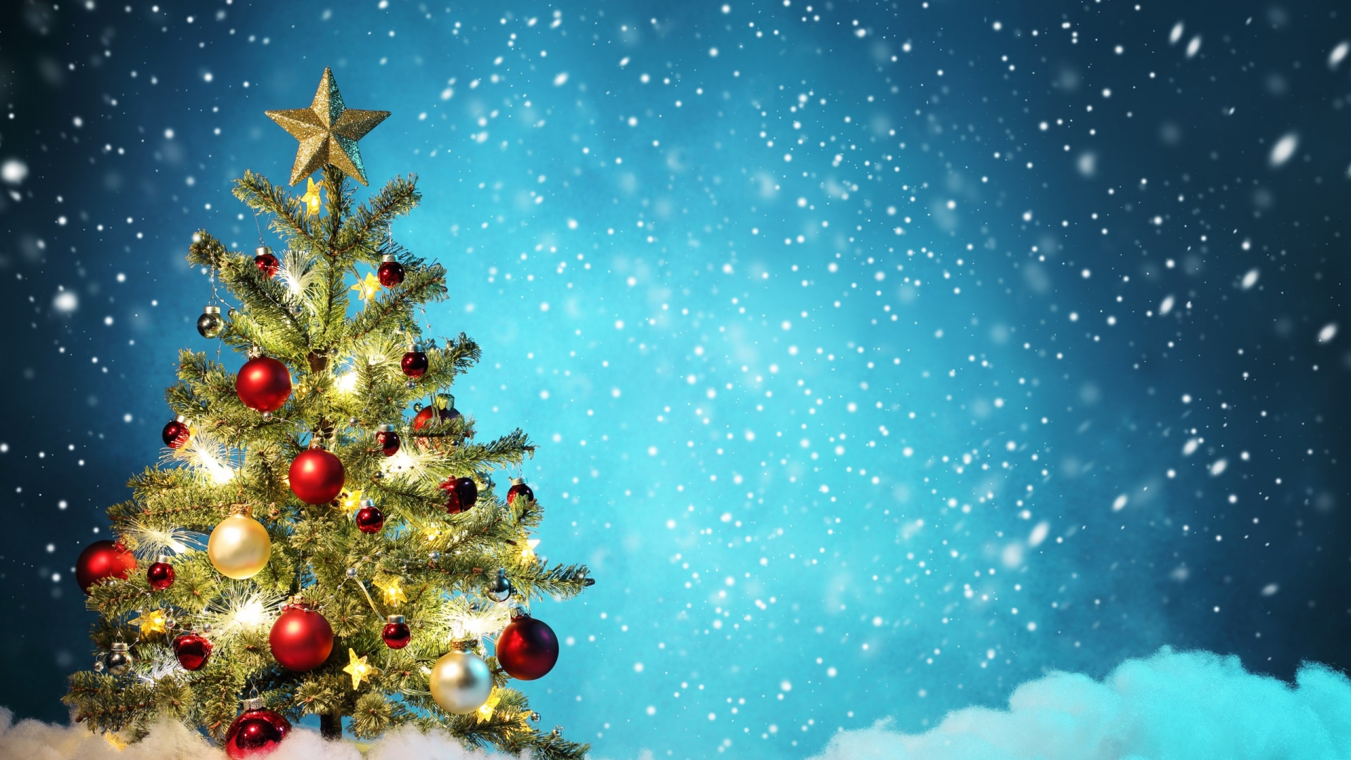 Little Christmas Tree Wallpaper For Desktop