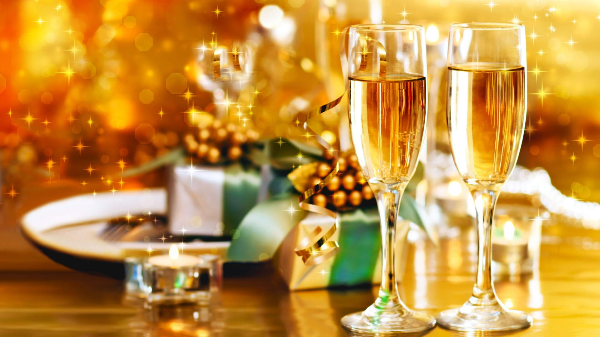 New Year Eve Party Background Hd 4k