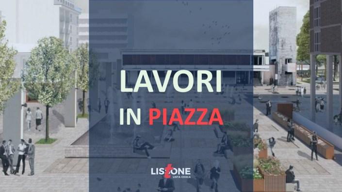 Lissone - Progetto piazza Libertà