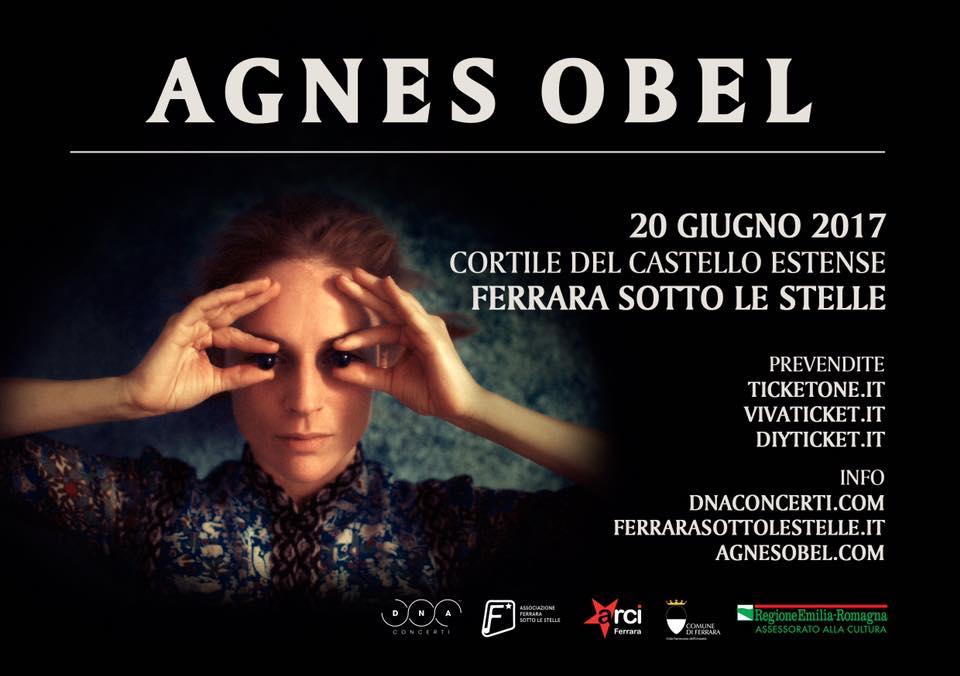 Agnes Obel live @ Ferrara sotto le stelle 2017