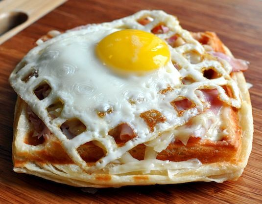 23 Things You Can Cook In A Waffle Iron | Waffle Iron Egg Sandwich