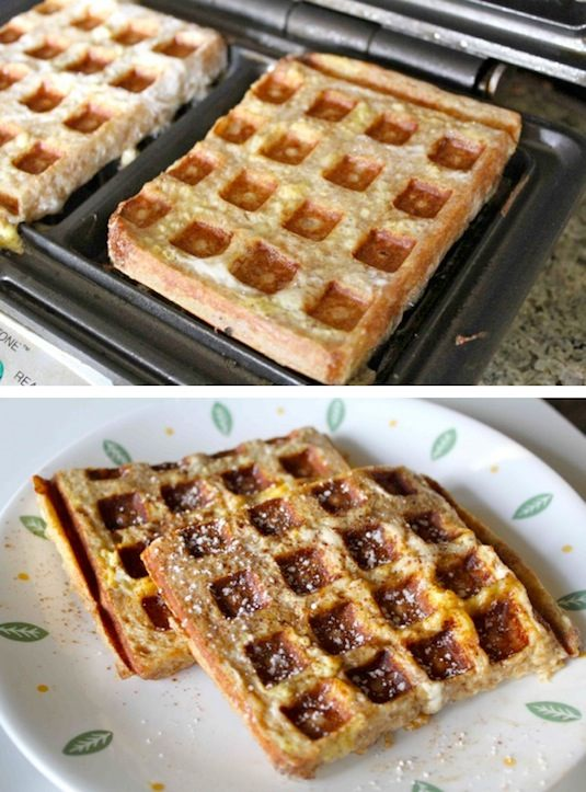 23 Things You Can Cook In A Waffle Iron | Waffle Iron French Toast