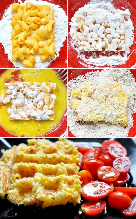 23 Things You Can Cook In A Waffle Iron | Waffle Iron Macaroni & Cheese