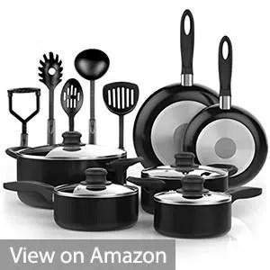 Vremi 15 Piece Cookware Set