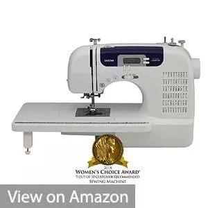 Brother CS-6000i Computerized Free-Arm Sewing Machine