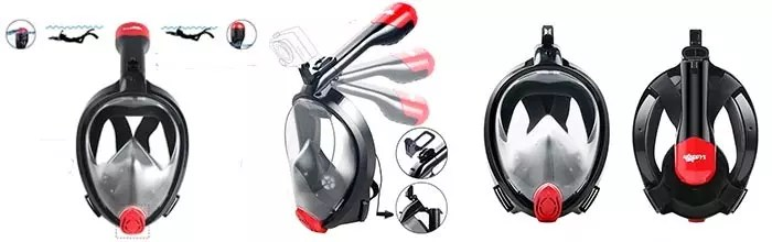 Details of X-Lounger Snorkel Mask