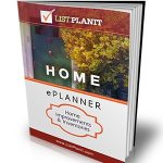 Home ePlanner: Home Improvements & Inventories.  $5 for 55 pages of printable lists for the home!