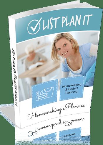 Homemaking ePlanner | ListPlanIt.com