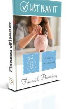 Finance ePlanner | ListPlanIt.com
